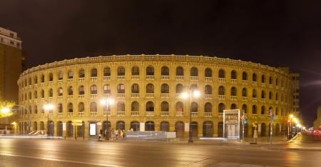 plaza de toros: Plaza de toros, was built in 1851. Valencia, Spain