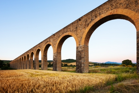 acueducto: Acueducto  by architect Ventura Rodriguez. Navarre. Spain