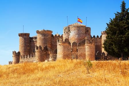mudejar:  Mudejar castle in Belmonte.  Cuenca, Spain Editorial