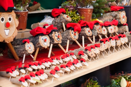 nadal: Tio de Nadal is character in Catalan mythology relating to Christmas tradition widespread in Catalonia Stock Photo