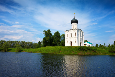 Church of the Intercession on the River Nerl. Inscribed in the Wold Heritage List of UNESCO photo