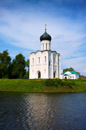nerl: Church of the Intercession on River Nerl was constructed between 1158—1165. Russia