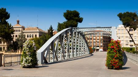 nuevo: Day view of Puente Nuevo over Segura. Murcia, Spain