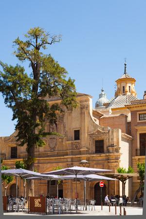 santo domingo: MURCIA, SPAIN - APRIL 15, 2014: Church of Santo Domingo. Murcia, Spain Editorial
