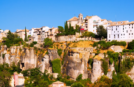 olden day:  General view of Cuenca. Castilla-La Mancha,  Spain