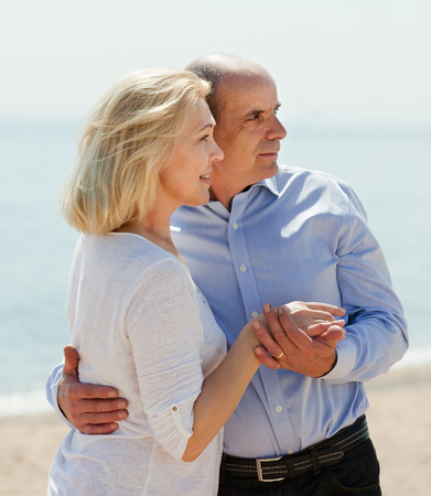 Happy mature couple together  photo