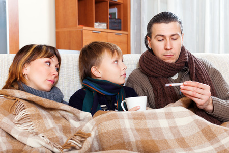 nosotrophy: Parents with teenage son are ill at home