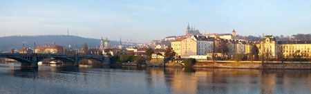 Panorama of Prague, Czech Republic  photo