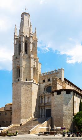 Collegiate Church of Saint Feliu  Girona, Catalonia photo