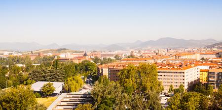 navarre: Pamplona in sunny day. Navarre