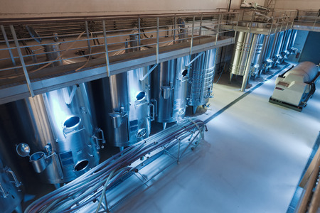 interior of contemporary winery factory photo