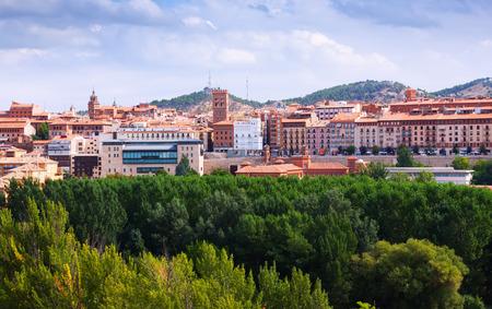 mudejar: view of Teruel with mudejar tower.  Aragon, Spain