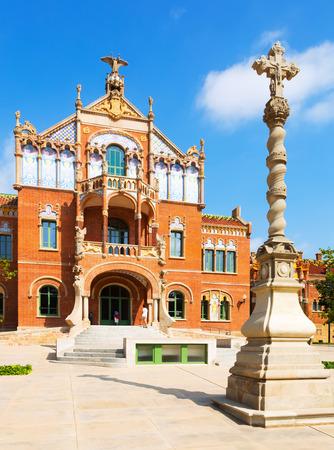 BARCELONA, SPAIN   SEPTEMBER 13, 2014: Hospital De Sant Pau By Catalan  Architect
