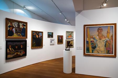 san sebastian: SAN SEBASTIAN, SPAIN - NOVEMBER 5, 2014: Art pictures in  San Telmo Museum in San Sebastian. Spain Editorial