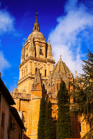 12th century: Old Cathedral in Salamanca, built in the 12th century. Spain