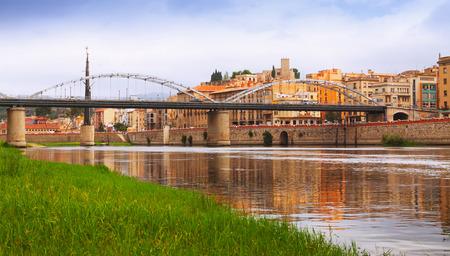 ebre: Day view of Ebre  in Tortosa, Catalonia