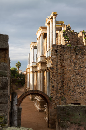 2nd century: Antique Roman Theatre  in  Merida. Built by the Romans  in end of the 1st century or early 2nd century