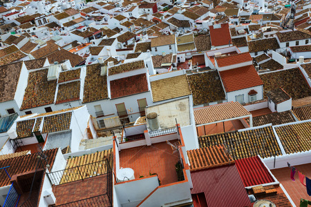 andalusian: Roofs  of ordinary andalusian town.  Olvera,   Spain
