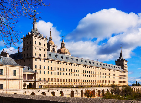 lorenzo: Royal Site of San Lorenzo de El Escorial.  Spain