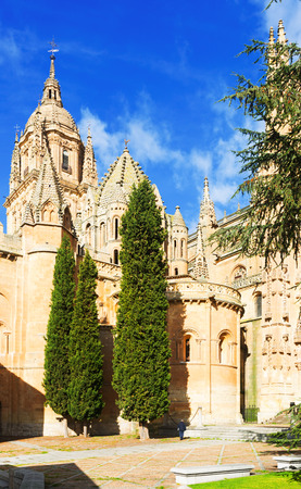 12th century: Old Cathedral of Salamanca, built in the 12th century. Spain