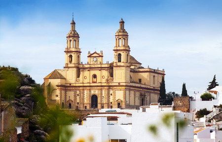 incarnation: Parish of Our Lady of the Incarnation in Olvera. Province of Cadiz, Spain Stock Photo