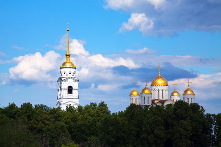 constructed: Dormition Cathedral in Vladimir was constructed between 1158�1160. Russia