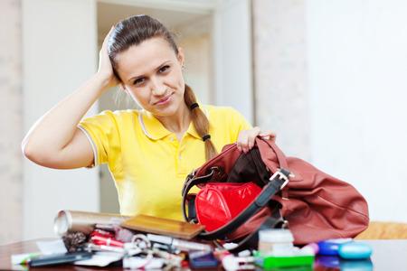 ransack: Upset inconsiderate woman lost something