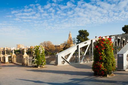 nuevo: Puente Nuevo  in sunny morning. Murcia, Spain