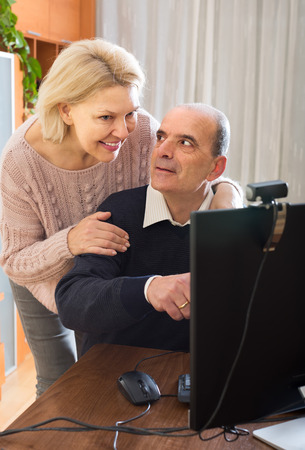 Mature couple home video