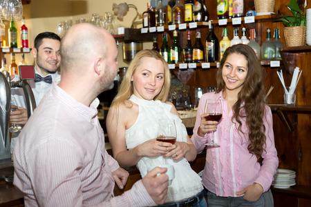 Picking up women at a bar