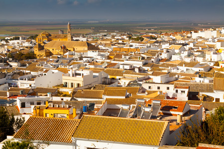 districts: View of residential districts of andalucian town.  Osuna