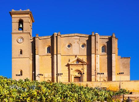 collegiate: Day view of Collegiate church of Osuna.  Andalucia,  Spainn