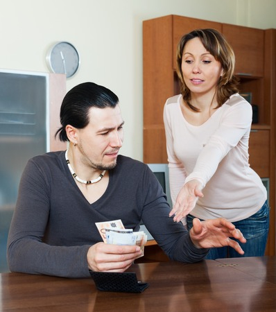 avidity: Wife asking for money from her husband for the purchase
