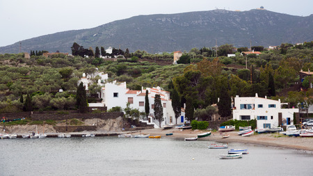 The  village of Port Lligat. Cadaques,  Catalonia photo