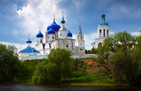 bogolyubovo: Orthodoxy monastery at Bogolyubovo in summer day. Russia