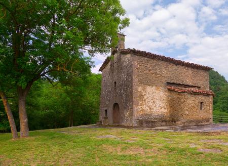 magdalena: Church of Santa Magdalena in Besalu. Catalonia