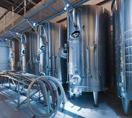stell: contemporary   stell barrels in winemaker