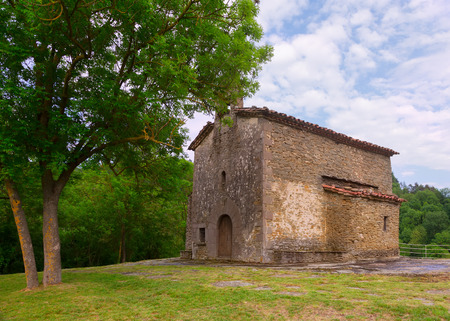 magdalena: Santa Magdalena church in Besalu. Catalonia, Spain Stock Photo