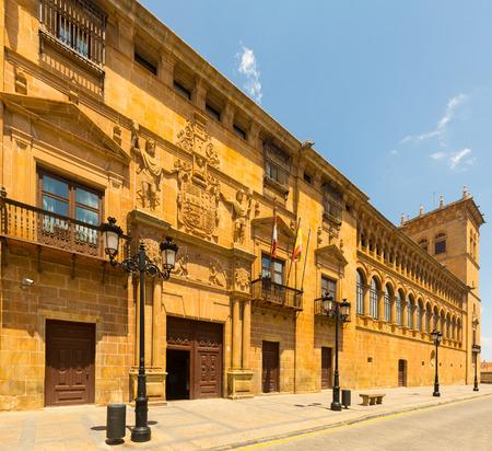 judiciary: Judiciary Palace (Palacio de los condes de Gomara, build in 1592) in Soria.   Castilla y Leon, Spain