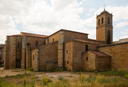 plateresque: Concathedral of San Pedro at Soria.   Spain Stock Photo