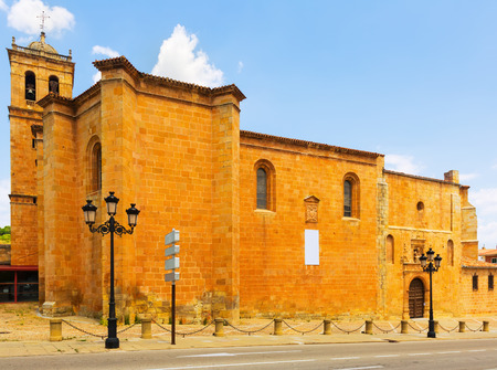 plateresque: Plateresque Concathedral of San Pedro, erected in the 12th-13th centuries. Soria, Spain