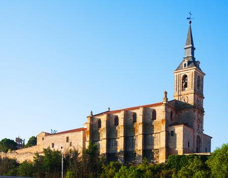 san pedro: Collegiate church of San Pedro in Lerma, Province of Burgos