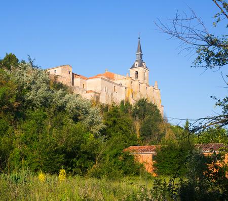 san pedro: Collegiate church of San Pedro in Lerma, Province of Burgos. Spain
