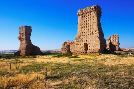 Ruined  castle of Palenzuela, Spain