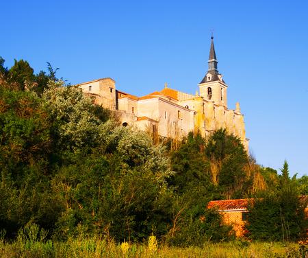 san pedro: Church of San Pedro in Lerma, Province of Burgos. Castile and Leon, Spain