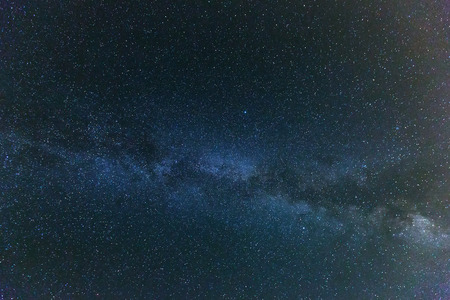 nighty sky with many stars during summer  night