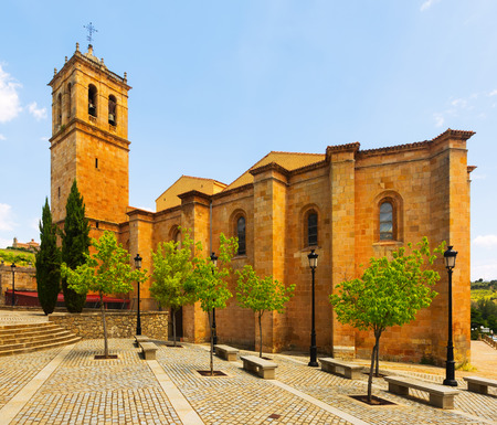 plateresque: Concathedral of San Pedro in Soria.   Spain