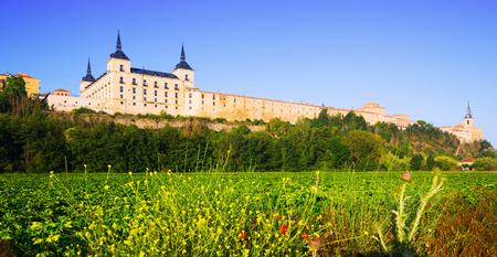 castile leon: Ducal palace at Lerma  in Lerma,   Castile and Leon. Spain