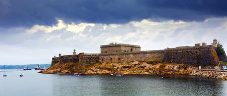 anton: San Anton Castle in  A Coruna. Spain