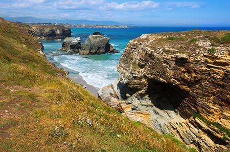 turistic: As Catedrais beach - it is the turistic name of Praia de Augas Santas (Beach of the Holy Waters).  Spain